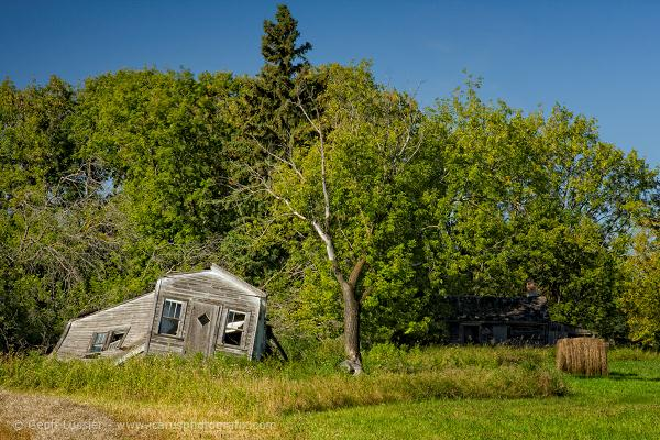 Old Farm, Beausejour, Manitoba