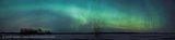 Aurora Winter, Clandeboye - pano