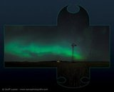 Windpump Aurora, East Selkirk - crossed pano
