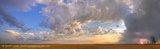 Anola Sunrise Prairie Storm - pano