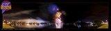 Kenora Harbourfest Fireworks Pano, Archangel Fireworks